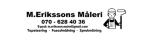 M. Erikssons Måleri logotyp