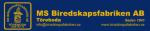 M.S. Biredskapsfabriken AB logotyp