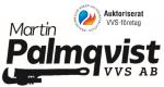 Martin Palmqvist VVS AB logotyp