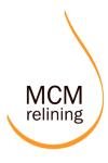 MCM relining i Vätterstaden AB logotyp