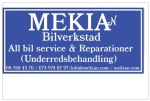 MEKIAN Bilverkstad AB logotyp
