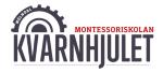Montessoriskolan Kvarnhjulet, ekonomisk fören logotyp