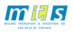 Mts Malmö Transport & Spedition AB logotyp