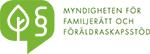 Myndigheten För Familjerätt och Föräldraskapsstö logotyp