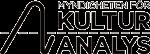 Myndigheten För Kulturanalys logotyp