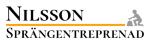 Nilsson mark & sprängentreprenad AB logotyp