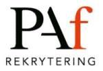 Paf Rekrytering AB logotyp