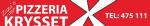 Pizzeria Krysset i Kalmar AB logotyp
