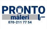 Pronto Måleri logotyp