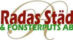 Radas Städ och Fönsterputs AB logotyp