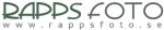 Rapps Foto AB logotyp