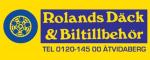 Rolands Däck & Biltillbehör AB logotyp