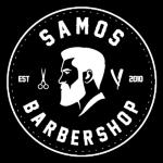 Samos Barbershop HB logotyp
