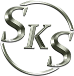 Skinande Kakel Sverige logotyp