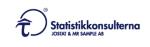 Statistikkonsulterna Jostat & Mr Sample AB logotyp