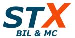 STX Bil & Mc AB logotyp