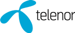 Telenor Global Services As logotyp