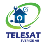 Telesat Sverige AB logotyp