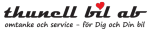 Thunell Bil AB logotyp