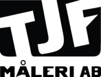TJF Måleri AB logotyp