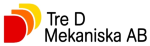 Tre D - Mekaniska AB logotyp