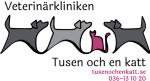 Veterinärkliniken Tusen och en katt AB logotyp