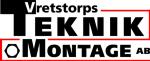 Vretstorps Teknik O Montage AB logotyp