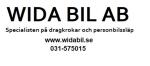 Wida Bil AB logotyp